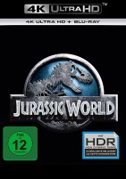 Jurassic World - 4K Ultra HD Blu-ray + Blu-ray (4K Ultra HD)