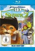 Shrek 2 - Der tollkühne Held kehrt zurück - Blu-ray 3D + 2D (Blu-ray)