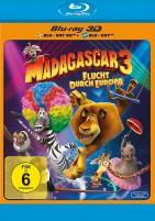 Madagascar 3 - Flucht durch Europa - Blu-ray 3D + 2D (Blu-ray)