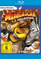 Madagascar 1-3 - Collection (Blu-ray)