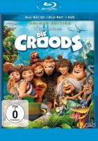 Die Croods - Blu-ray 3D + 2D + DVD (Blu-ray)
