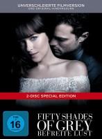 Fifty Shades of Grey - Befreite Lust - Verschleierte Filmversion + Kinofassung / Limited Digibook (DVD)
