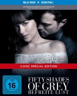 Fifty Shades of Grey - Befreite Lust - Unverschleierte Filmversion + Kinofassung / Limited Digibook (Blu-ray)