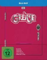 Grease 1 & 2 & Grease Live! - Steelbook (Blu-ray)