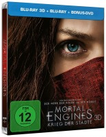 Mortal Engines - Krieg der Städte - Blu-ray 3D + 2D + Bonus-DVD / Limited Steelbook (Blu-ray)