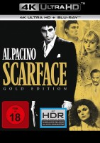Scarface - 4K Ultra HD Blu-ray + Blu-ray / Gold Edition (4K Ultra HD)