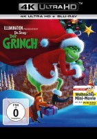Der Grinch - 4K Ultra HD Blu-ray + Blu-ray / Weihnachts-Edition (4K Ultra HD)