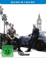Fast & Furious: Hobbs & Shaw - Blu-ray 3D + 2D / Steelbook (Blu-ray)