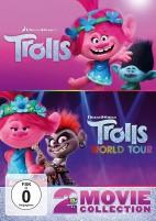 Trolls & Trolls World Tour - 2 Movie Collection (DVD)