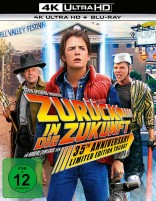 Zurück in die Zukunft - 35th Anniversary Trilogy / 4K Ultra HD Blu-ray + Blu-ray / Limited Steelbook (4K Ultra HD)