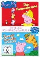 Peppa Pig - Das Feuerwehrauto & Gerald Giraffe und andere Geschichten (DVD)