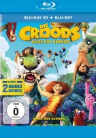 Die Croods - Alles auf Anfang - Blu-ray 3D + 2D (Blu-ray)