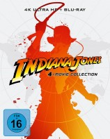 Indiana Jones - 4-Movie Collection / 4K Ultra HD Blu-ray / Limited Steelbook (4K Ultra HD)