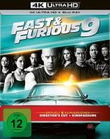 Fast & Furious 9 - 4K Ultra HD Blu-ray + Blu-ray / Director's Cut & Kinofassung / Limited Steelbook (4K Ultra HD)