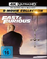 Fast & Furious - 9-Movie Collection / 4K Ultra HD Blu-ray + Blu-ray (4K Ultra HD)