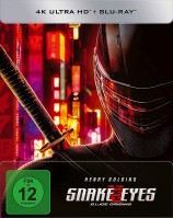 Snake Eyes: G.I. Joe Origins - 4K Ultra HD Blu-ray + Blu-ray / Limited Steelbook (4K Ultra HD)