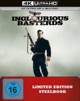 Inglourious Basterds - 4K Ultra HD Blu-ray + Blu-ray / Limited Steelbook (4K Ultra HD)