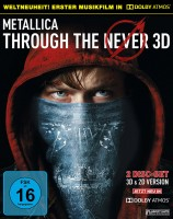 Metallica - Through the Never 3D - Blu-ray 3D + 2D / Dolby Atmos (Blu-ray)