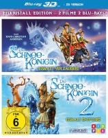 Die Schneekönigin 1+2 - Eiskristall Edition / Blu-ray 3D + 2D (Blu-ray)