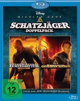 Schatzjäger Doppelpack - Das Vermächtnis der Tempelritter & Das Vermächtnis des geheimen Buches (Blu-ray)