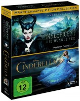 Maleficent - Die dunkle Fee & Cinderella (Blu-ray)