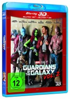 Guardians of the Galaxy Vol. 2 - Blu-ray 3D + 2D (Blu-ray)