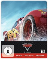 Cars 3: Evolution - Blu-ray 3D + 2D + Bonus Disc / Steelbook (Blu-ray)