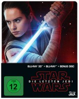 Star Wars: Episode VIII - Die letzten Jedi - Blu-ray 3D + 2D / Steelbook (Blu-ray)
