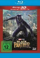Black Panther - Blu-ray 3D + 2D (Blu-ray)