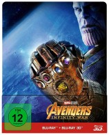 Avengers: Infinity War - Blu-ray 3D + 2D + Bonusdisc / Steelbook (Blu-ray)