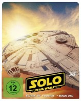 Solo: A Star Wars Story - Blu-ray 3D + 2D / Steelbook (Blu-ray)