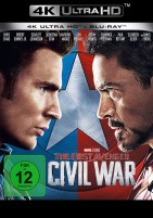 The First Avenger: Civil War - 4K Ultra HD Blu-ray + Blu-ray (4K Ultra HD)
