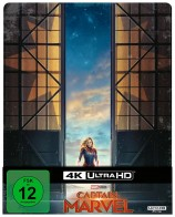 Captain Marvel - 4K Ultra HD Blu-ray + Blu-ray / Steelbook (4K Ultra HD)
