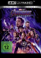 Avengers - Endgame - 4K Ultra HD Blu-ray + Blu-ray (4K Ultra HD)