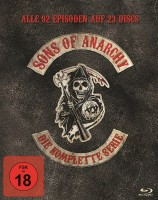 Sons of Anarchy - Die komplette Serie / Staffel 1-7 / 2. Auflage (Blu-ray)