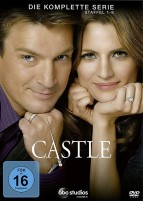 Castle - Die komplette Serie / Staffel 1-8 (DVD)