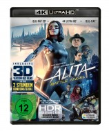 Alita: Battle Angel - 4K Ultra HD Blu-ray + Blu-ray 3D + 2D / Amaray (4K Ultra HD)