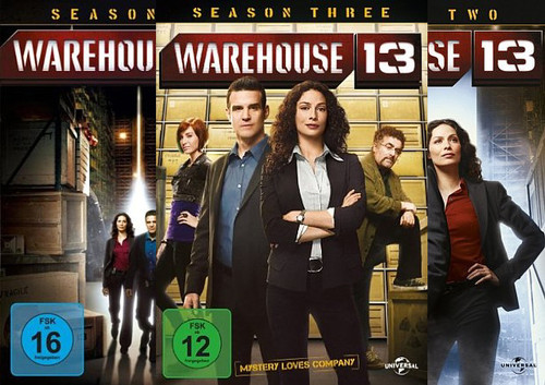 Warehouse 13 - Season 1-3 Set (DVD)