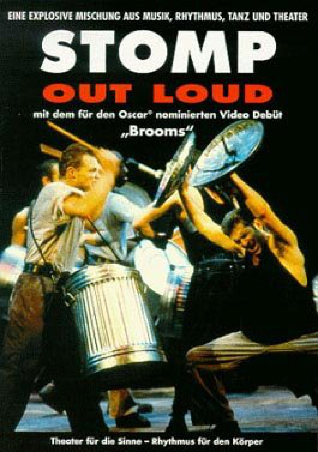 Stomp - Out Loud + Brooms (DVD)