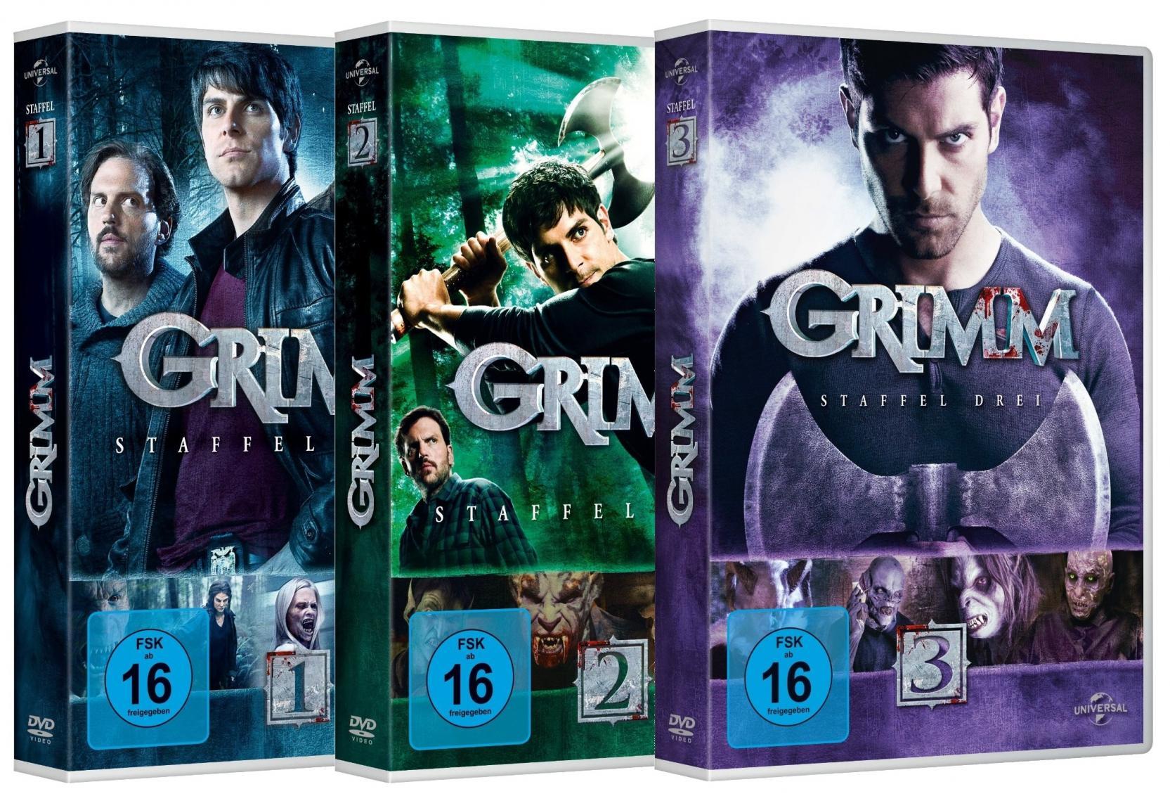 Grimm Staffel 1-3 Set (DVD)