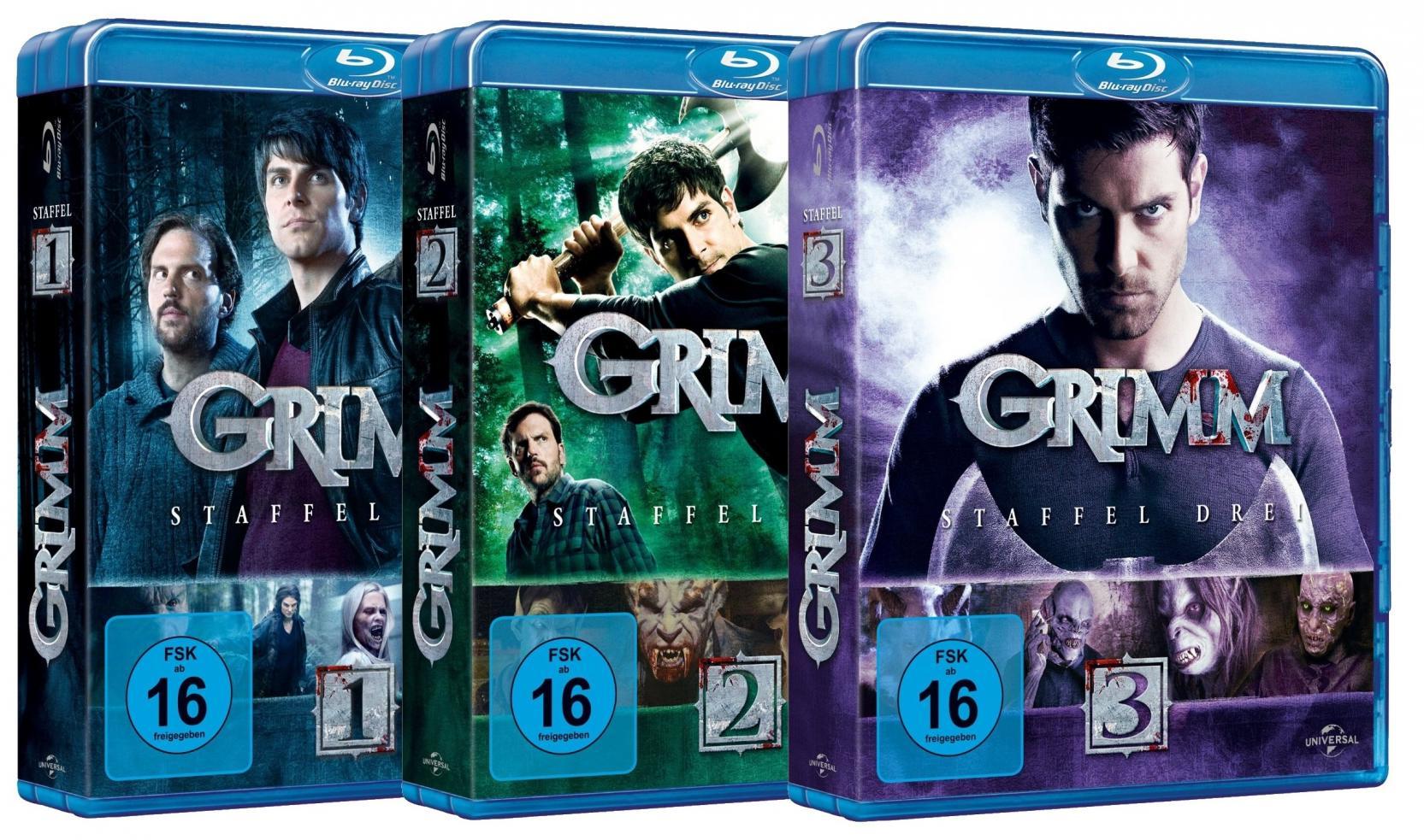 Grimm Staffel 1-3 Set (Blu-ray)