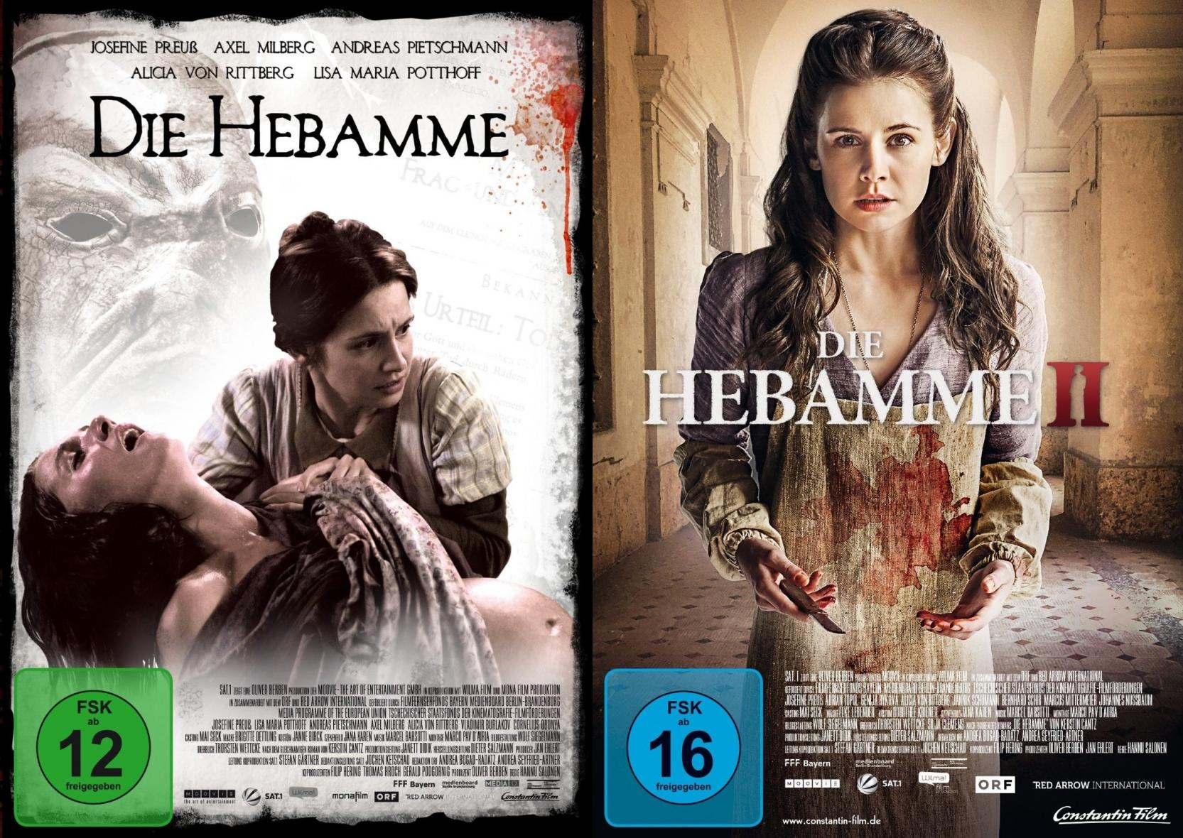 Die Hebamme 1+2 Set (DVD)