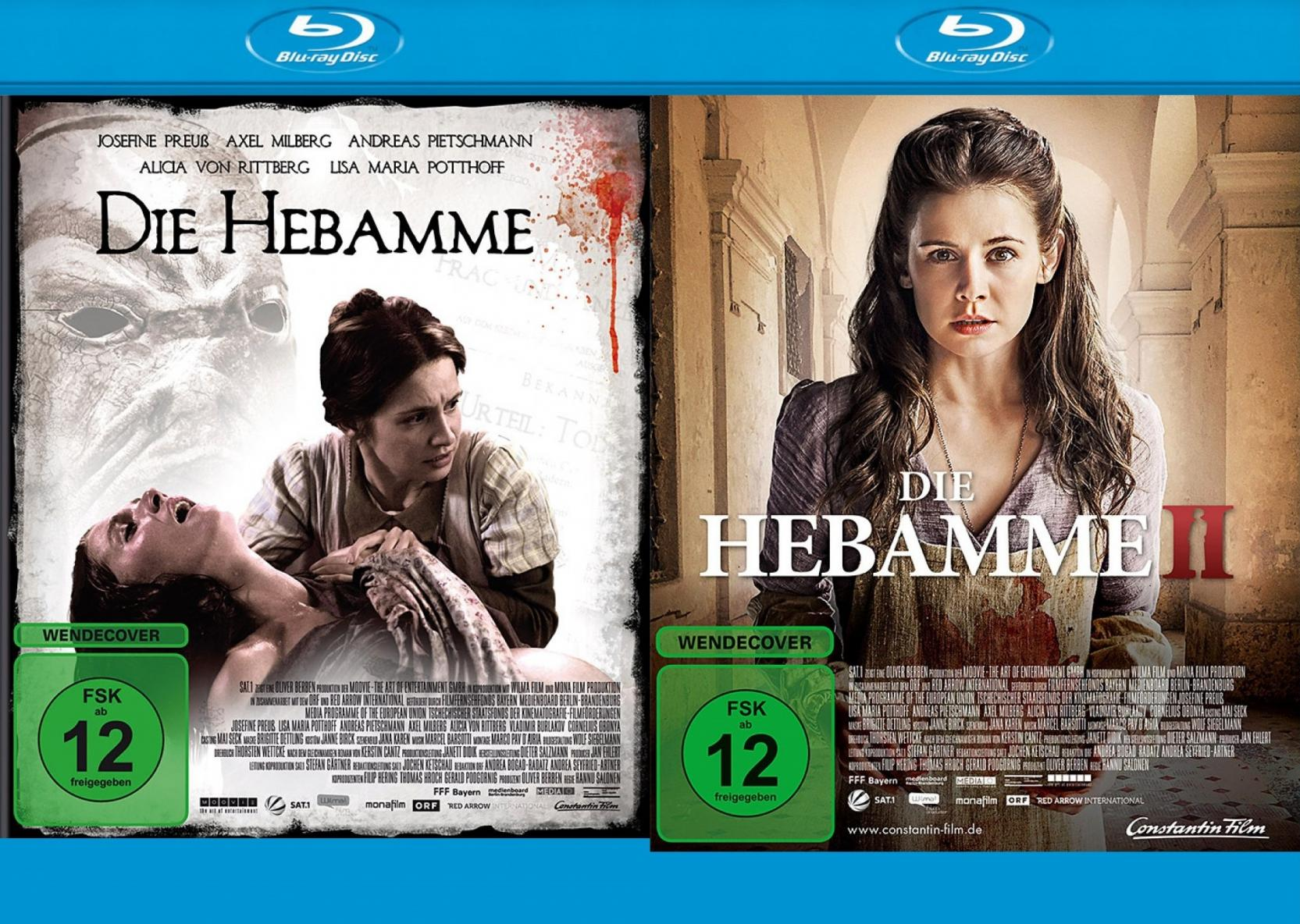 Die Hebamme 1+2 Set (Blu-ray)