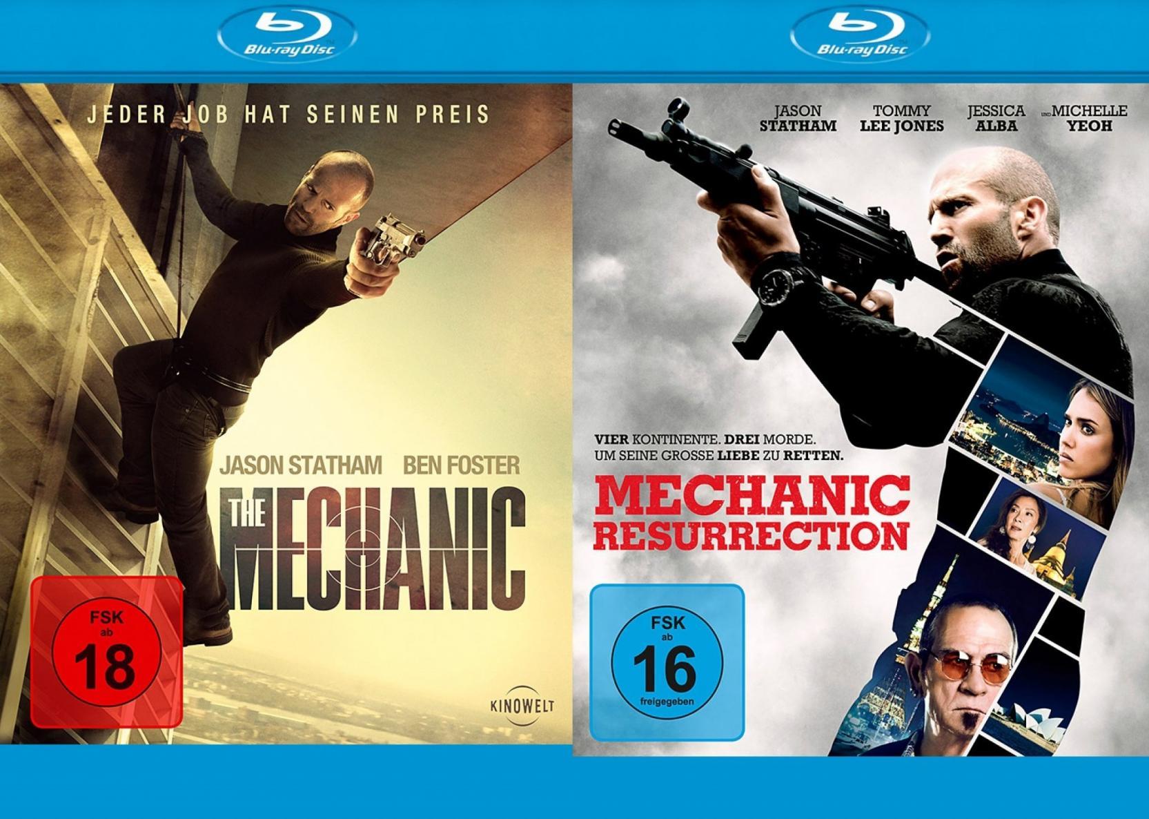 The Mechanic + Mechanic: Resurrection - Set (Blu-ray)