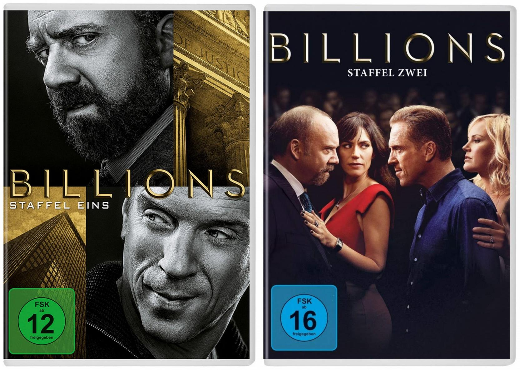 Billions - Staffel 1+2 Set (DVD)
