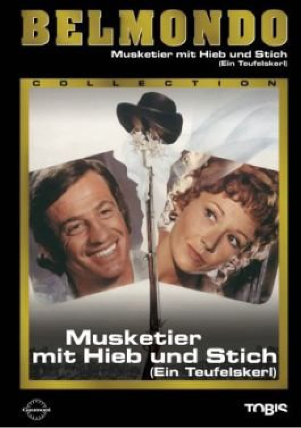 Musketier mit Hieb und Stich (Ein Teufelskerl) - Belmondo Collection (DVD)