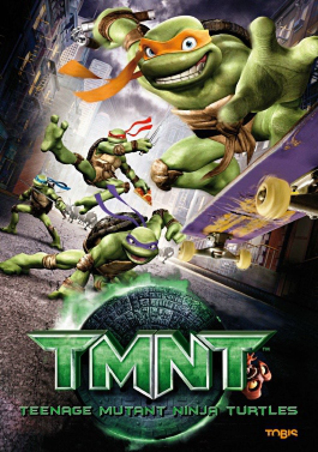 TMNT - Teenage Mutant Ninja Turtles (DVD)