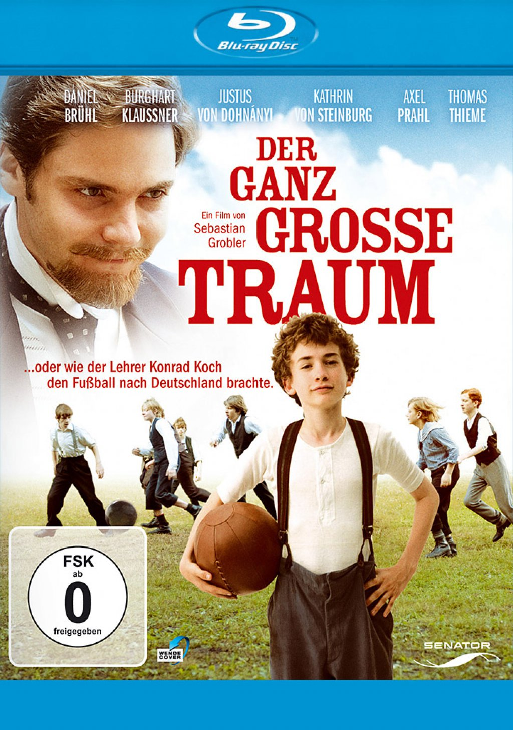 Der ganz grosse Traum (Blu-ray)