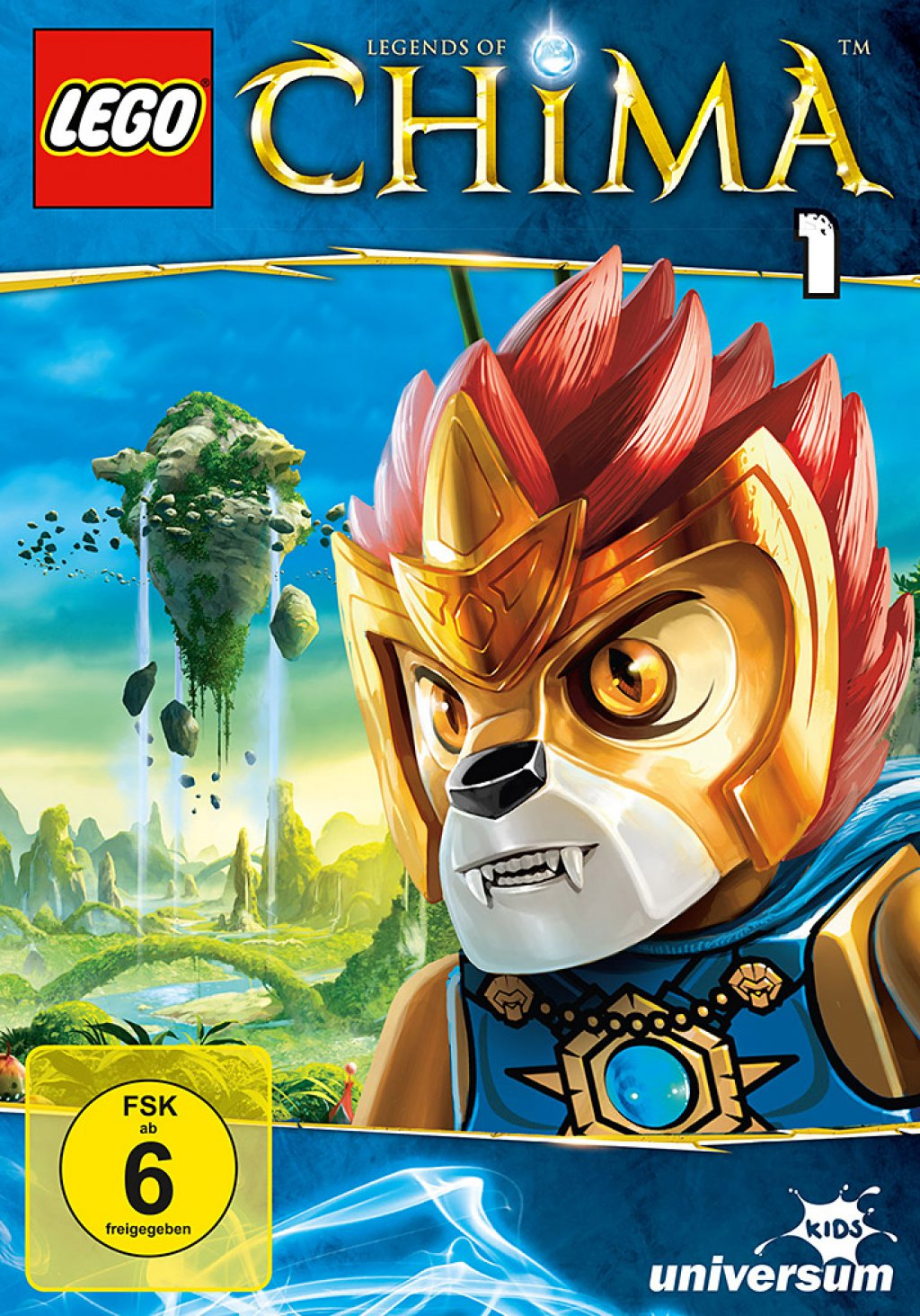 LEGO - Legends of Chima - DVD 1 (DVD)