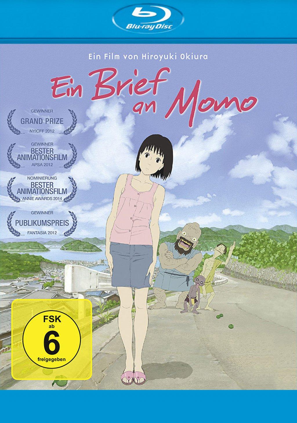 Ein Brief an Momo (Blu-ray)